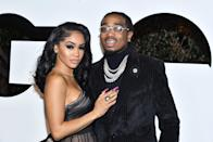 "<p><a href=""https://www.popsugar.com/celebrity/saweetie-and-quavo-break-up-48228762"" class=""link rapid-noclick-resp"" rel=""nofollow noopener"" target=""_blank"" data-ylk=""slk:The pair called it quits"">The pair called it quits</a> after three years together in March. Saweetie confirmed the split on Twitter, saying she ""endured too much betrayal and hurt behind the scenes for a false narrative to be circulating that degrades my character."" She also shed light on the possible reason behind their breakup, writing, ""Presents don't band aid scars and the love isn't real when the intimacy is given to other women."" She added, ""I emotionally checked out a long time ago and have walked away with a deep sense of peace and freedom. Excited for this new chapter of elevation.""</p> <p>Quavo seemingly responded to her statement shortly after, tweeting, ""I had love for you and disappointed you did all that. You are not the woman I thought you were. I wish you nothing but the best 🙏🏾.""</p>"
