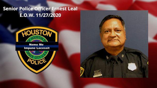 PHOTO: Houston police officer Ernest Leal is seen in this undated photo. (Houston Police Department via Twitter)