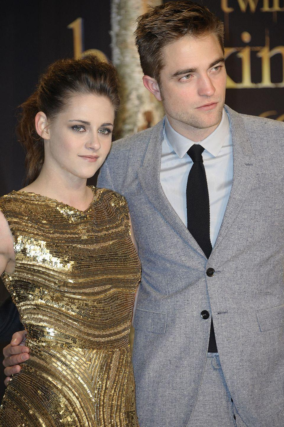 <p>Robsten has been over for a while now, but humor us. It's right there in the brows and the lips. Bella and Edward forever!</p>