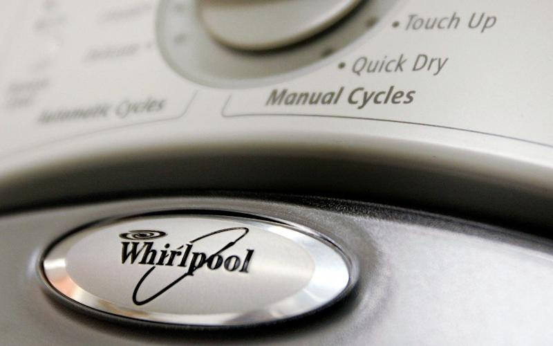 The machine is one of hundreds of thousands being recalled by Whirlpool over safety fears - Getty Images North America