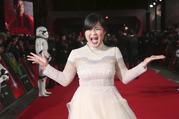 """Actress Kelly Marie Tran has been cast in Disney's """"Raya and the Last Dragon."""" <span class=""""copyright"""">(Joel C Ryan / Invision / Associated Press)</span>"""