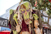 <p>Cosplayer dressed as the Zombie Judge of <em>ParaNorman</em> at Comic-Con International on July 19, 2018, in San Diego. (Photo: Christy Radecic/Invision/AP) </p>