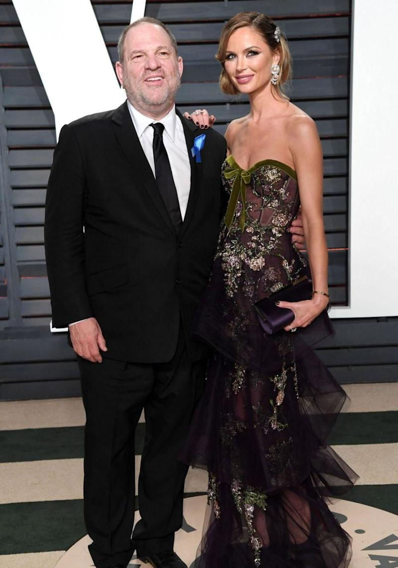 His wife of 10 years Georgina Chapman has left him as a result of the allegations. Source: Getty