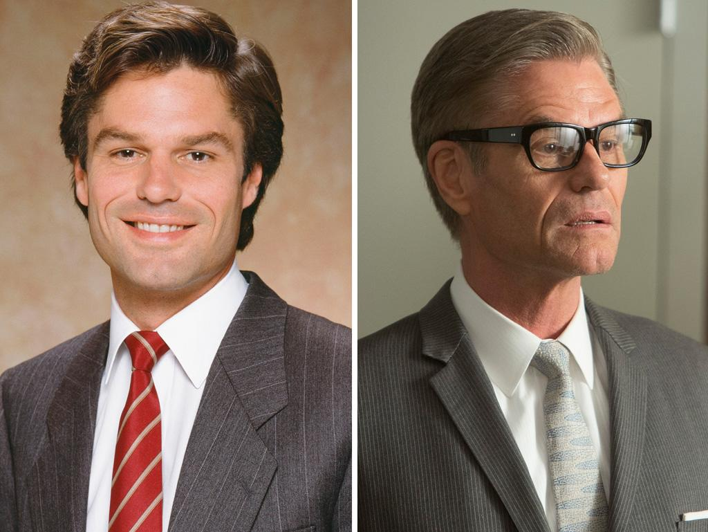 "TV fans remember Hamlin as dashing attorney Michael Kuzak from the '80s legal drama ""L.A. Law"" — not to mention as People's Sexiest Man Alive of 1987! Even at 62 years old, he's still got plenty of that old charisma as ""Mad Men's"" Jim Cutler, who's sort of the bizarro Roger Sterling and introduced Don Draper to the subtle pleasures of amphetamine injections."