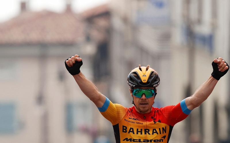 Jan Tratnik —Joao Almeida pounces to extend lead at Giro d'Italia after Jan Tratnik wins maiden grand tour stage - GETTY IMAGES