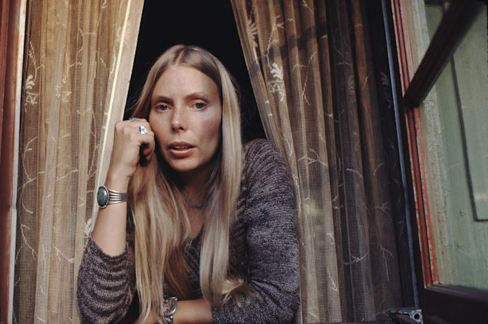 """Joni Mitchell in a still from """"Laurel Canyon"""" on Epix."""