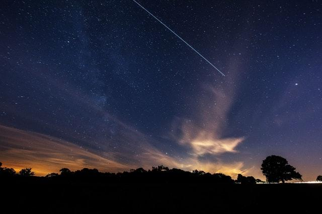ISS over Belvoir Castle
