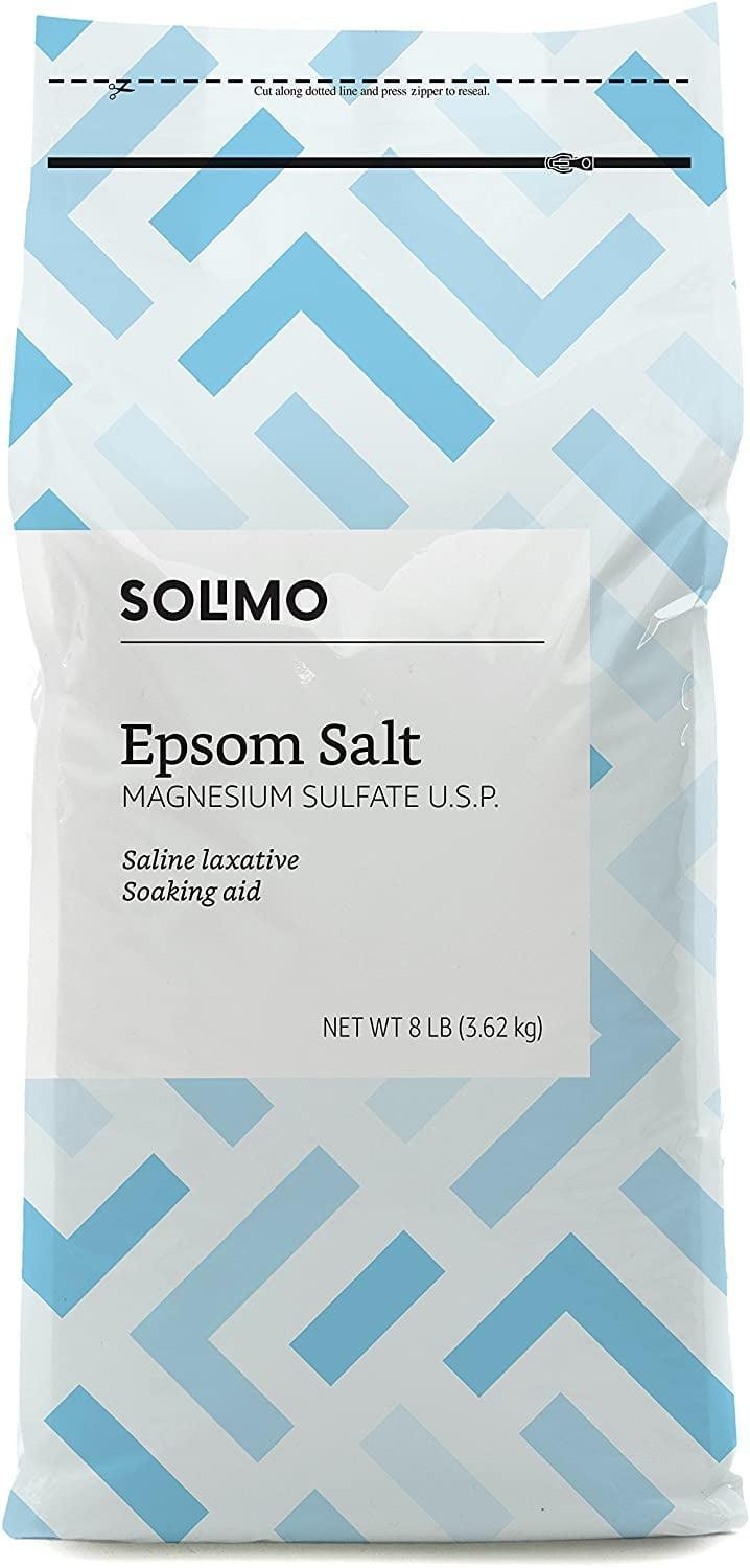 <p>Every bath needs a <span>Solimo Epsom Salt Soak</span> ($6). It can help alieviate body pains and it's unscented.</p>