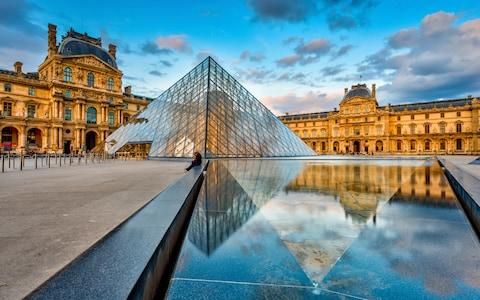 the louvre, paris - Credit: Getty