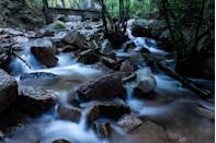 """<p>Located near Colorado Springs, the <a href=""""https://www.tripadvisor.com/Attraction_Review-g33364-d7280427-Reviews-Seven_Bridges_Trail-Colorado_Springs_El_Paso_County_Colorado.html"""" rel=""""nofollow noopener"""" target=""""_blank"""" data-ylk=""""slk:Seven Bridges Trail"""" class=""""link rapid-noclick-resp"""">Seven Bridges Trail</a> promises a hiking experience that'll appeal to all ages and skill levels. There are flat trails, rocky spots for those who want a little challenge, and wooden bridges that cross over rushing creeks.</p><p><br><a class=""""link rapid-noclick-resp"""" href=""""https://go.redirectingat.com?id=74968X1596630&url=https%3A%2F%2Fwww.tripadvisor.com%2FAttraction_Review-g33364-d7280427-Reviews-Seven_Bridges_Trail-Colorado_Springs_El_Paso_County_Colorado.html&sref=https%3A%2F%2Fwww.countryliving.com%2Flife%2Ftravel%2Fg24487731%2Fbest-hikes-in-the-us%2F"""" rel=""""nofollow noopener"""" target=""""_blank"""" data-ylk=""""slk:PLAN YOUR HIKE"""">PLAN YOUR HIKE</a></p>"""