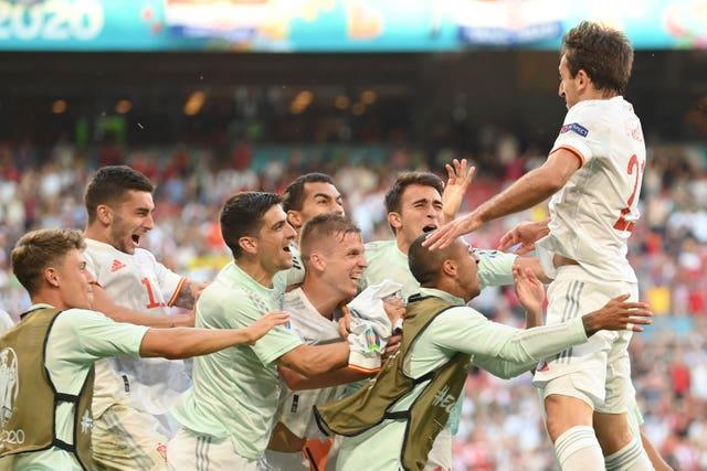 Spain ended Croatia's run with a 5-3 victory in the last 16