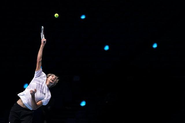 Alexander Zverev serves during day two of the ATP Finals at the O2 Arena. The German suffered defeat to eventual winner Daniil Medvedev during the group stage of the season-ending event. Having been hosted in London since 2009, the tournament will move to Turin in Italy from next year