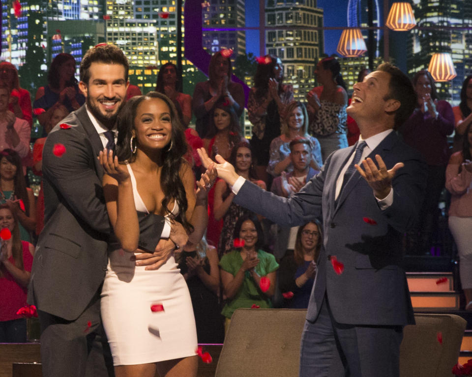 Rachel Lindsay has been the only black lead of the <em>Bachelor</em> franchise since it premiered in 2002. (Photo: Getty Images)
