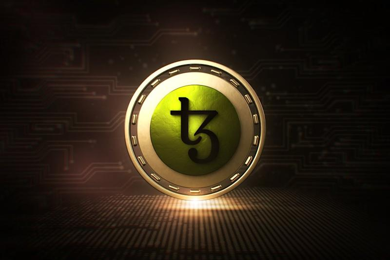 Tezos completed its Athens upgrade today. Its price has been trending upward all week. | Image from Shutterstock.