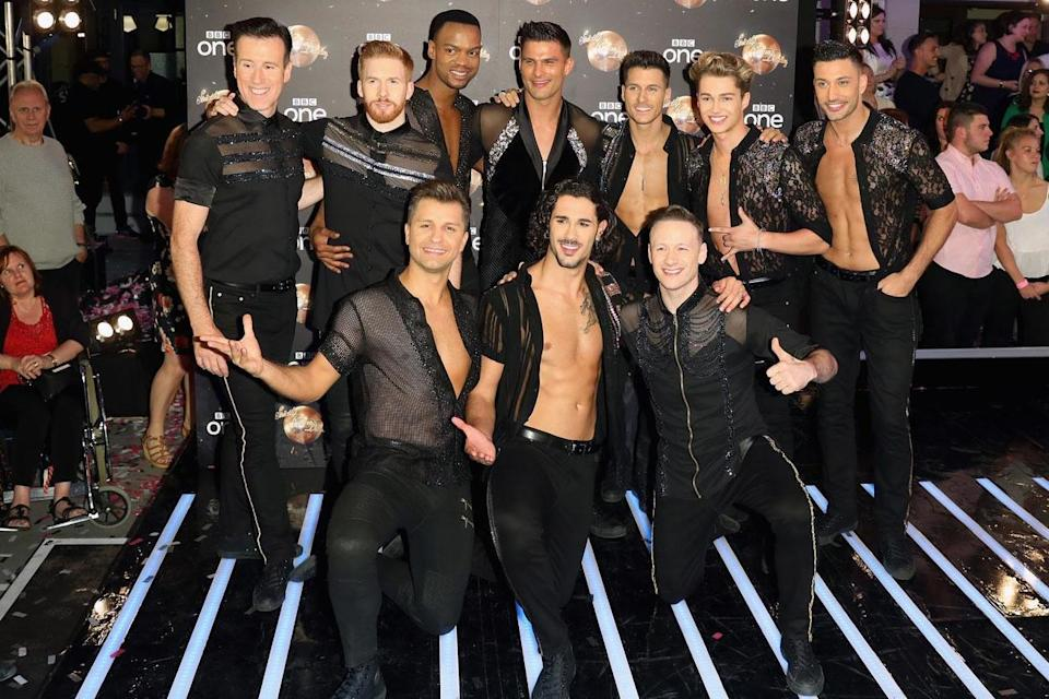 Strictly Come Dancing's 2018 pro dancers (Credit: Getty)