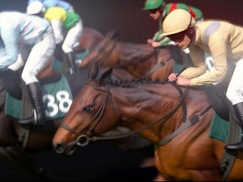 The Virtual Grand National will be broadcast on ITV: EPA