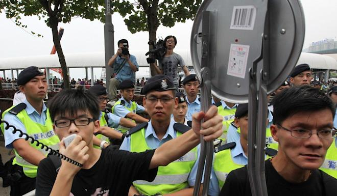 The government's last attempt to introduce a national education subject, in 2012, led to a backlash from Joshua Wong and others. Photo: SCMP