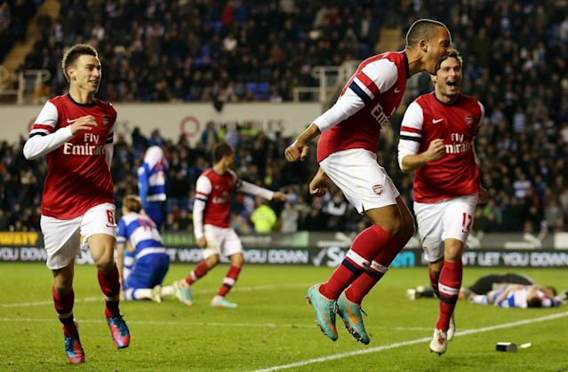<p>2012: Reading 5 Arsenal 7. It might have only been a League Cup tie but well worth a mention. Reading led the Gunners 4-0 before Arsene Wenger's side came out fighting, Theo Walcott netting a hat-trick as Arsenal won in extra time </p>