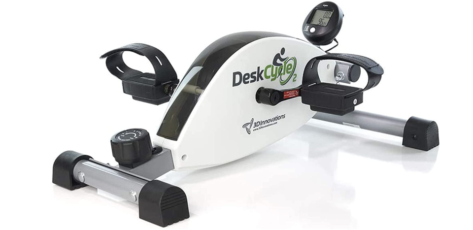 Get a workout in without leaving your desk. (Photo: Amazon)
