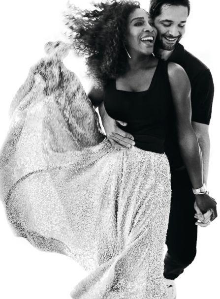 PHOTO: Serena Williams is photographed here with her husband Alexis Ohanian by Mario Testino for Vogue magazine. (Courtesy Vogue/Mario Testino )