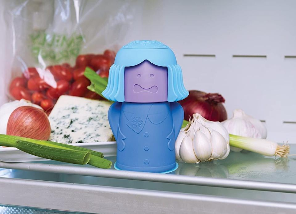 "You can finally stop worrying about your fridge smelling like the bottom of a trash bin.<br /><br /><strong>Promising review:</strong> ""I finally found a fun container to put in my fridge and freezer that won't spill over. It makes me smile each time I see it. <strong>It's easy to use and I liked the feature that reminds you when to change out the <a href=""https://amzn.to/3so8jXB"" target=""_blank"" rel=""nofollow noopener noreferrer"" data-skimlinks-tracking=""5878601"" data-vars-affiliate=""Amazon"" data-vars-asin=""B00HNSJSX2"" data-vars-href=""https://www.amazon.com/dp/B00HNSJSX2?tag=bfmal-20&ascsubtag=5878601%2C17%2C32%2Cmobile_web%2C0%2C0%2C16416162"" data-vars-keywords=""cleaning"" data-vars-link-id=""16416162"" data-vars-price="""" data-vars-product-id=""17896074"" data-vars-product-img=""https://m.media-amazon.com/images/I/51EfRHGpBhL.jpg"" data-vars-product-title=""Arm & Hammer Pure Baking Soda, 5 lb"" data-vars-retailers=""Amazon"">baking soda</a>.</strong>"" — <a href=""https://amzn.to/3dmEkLk"" target=""_blank"" rel=""nofollow noopener noreferrer"" data-skimlinks-tracking=""5878601"" data-vars-affiliate=""Amazon"" data-vars-href=""https://www.amazon.com/gp/customer-reviews/RWQZZ6ZUW28II?tag=bfmal-20&ascsubtag=5878601%2C17%2C32%2Cmobile_web%2C0%2C0%2C16416146"" data-vars-keywords=""cleaning"" data-vars-link-id=""16416146"" data-vars-price="""" data-vars-product-id=""20987506"" data-vars-product-img="""" data-vars-product-title="""" data-vars-retailers=""Amazon"">RHGEDL</a><br /><br /><strong>Get it from Amazon for <a href=""https://amzn.to/3mSpiAh"" target=""_blank"" rel=""noopener noreferrer"">$14.99</a>.</strong>"