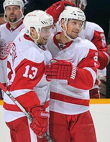 His teammates in Detroit can't help themselves from repeatedly asking Lidstrom about coming back next season and beyond