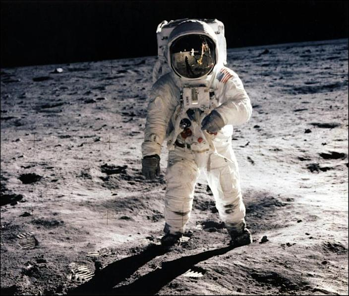 The United States spent about $25 billion on 15 Apollo missions, including that which first put Neil Armstrong and Buzz Aldrin on the moon in 1969 (AFP Photo/NASA)