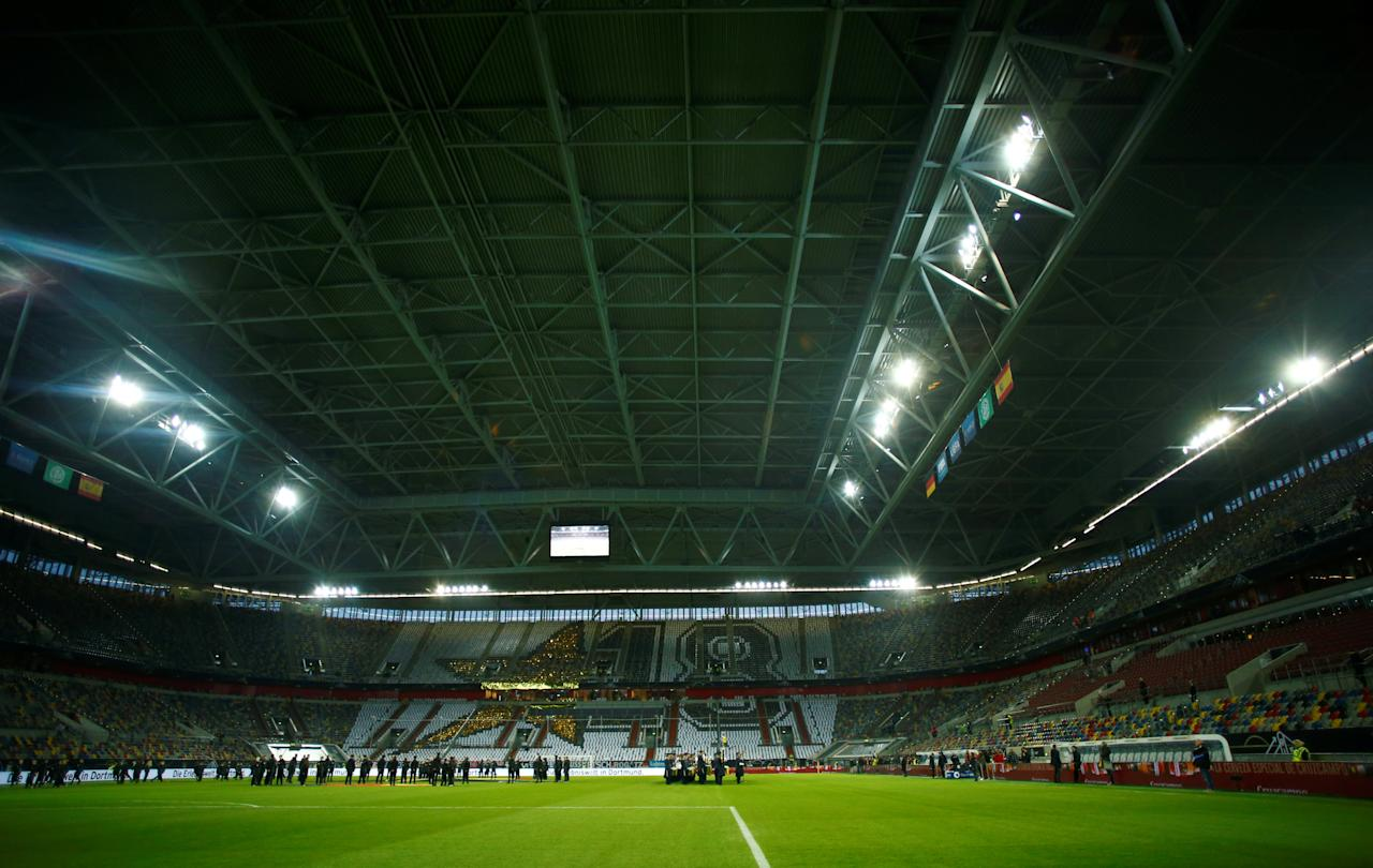 Soccer Football - International Friendly - Germany vs Spain - ESPRIT arena, Dusseldorf, Germany - March 23, 2018   General view inside the stadium before the match    REUTERS/Thilo Schmuelgen