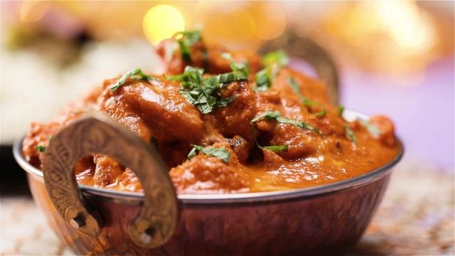 Butter masala chicken dish