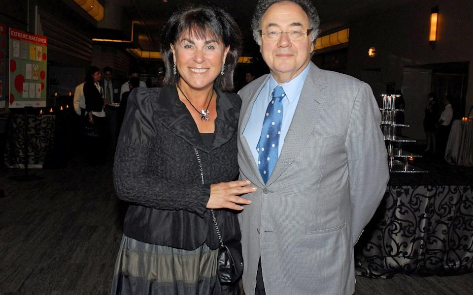 Honey and Barry Sherman, - REUTERS