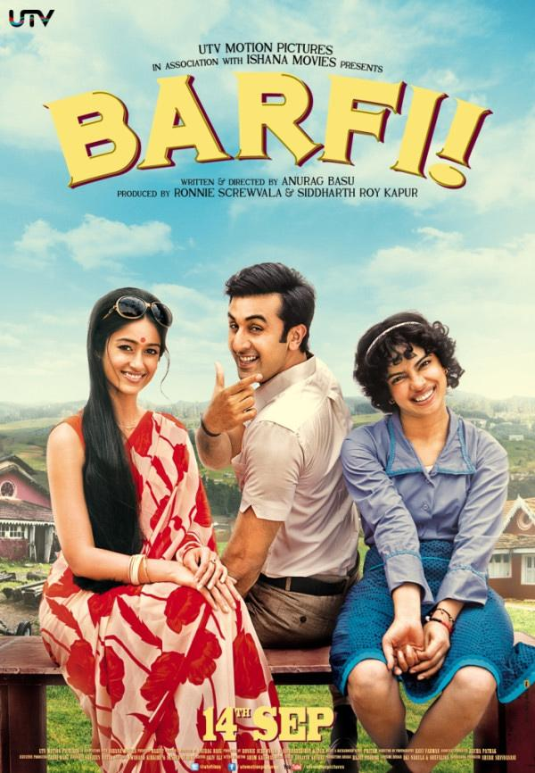 <p>The love between Barfi (Ranbir Kapoor) and Jhilmil (Priyanka Chopra) is the crux of the film, yet Shruti (Ileana D'Cruz) — Barfi's first love, always had a special place in the latter's heart. Shruti's love for Barfi was selfless. When fate offered her a second chance with Barfi, Jhilmil had already entered his life, and Shruti, upon realising that Barfi's heart belonged to Jhilmil, sacrifices her feelings. The movie wasn't just about the innocent love between Barfi and Jhilmil, but also of Shruti's accommodating, noble love.</p>