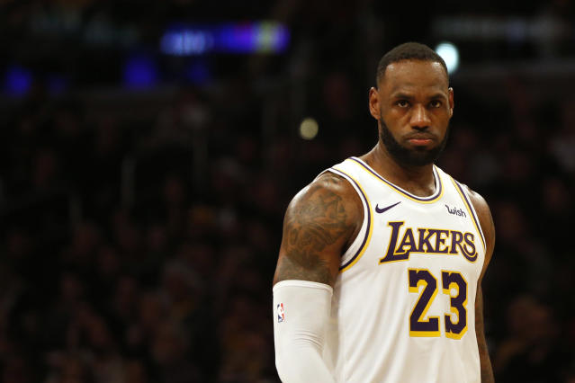 LeBron James is still a top-five MVP candidate at age 34. (Katharine Lotze/Getty Images)