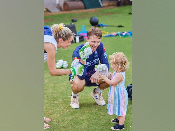 Jos Buttler and his wife Louise (Photo: Twitter/ Rajasthan Royals)