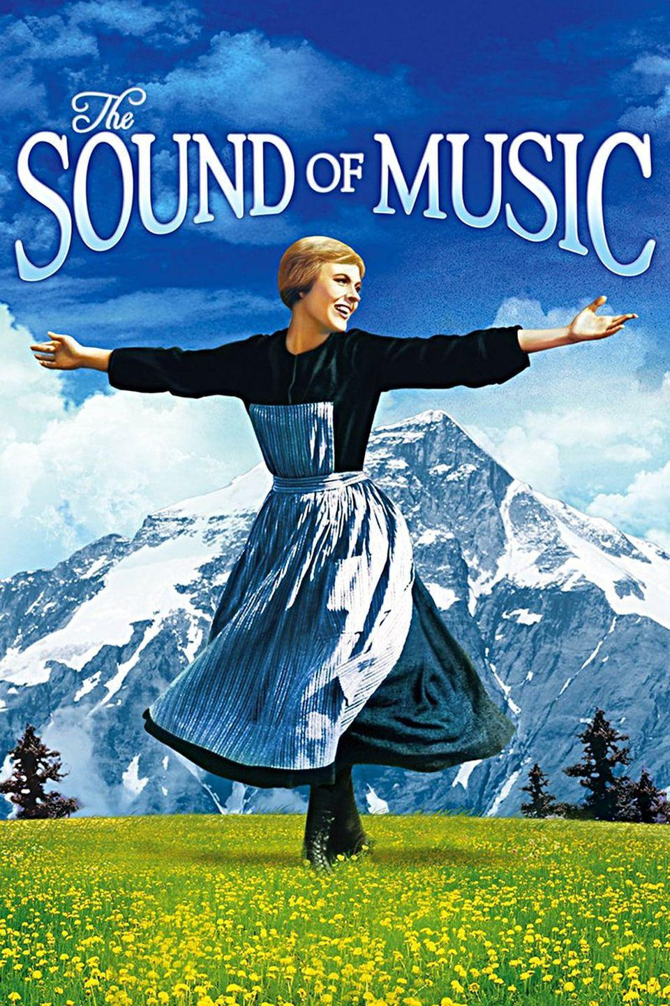 """<p>Julie Andrews as Maria running through the meadow singing """"The Hills are Alive"""" is just one of those movie scenes that will forever be in the pop culture zeitgeist. This movie about a nun who takes a job as governess for the children of a stern captain is a Best Picture winner and impossible not to sing along to.</p><p><a class=""""link rapid-noclick-resp"""" href=""""https://www.amazon.com/Sound-Music-Julie-Andrews/dp/B009EELBIS/ref=sr_1_1?tag=syn-yahoo-20&ascsubtag=%5Bartid%7C10072.g.27734413%5Bsrc%7Cyahoo-us"""" rel=""""nofollow noopener"""" target=""""_blank"""" data-ylk=""""slk:WATCH NOW"""">WATCH NOW</a></p>"""