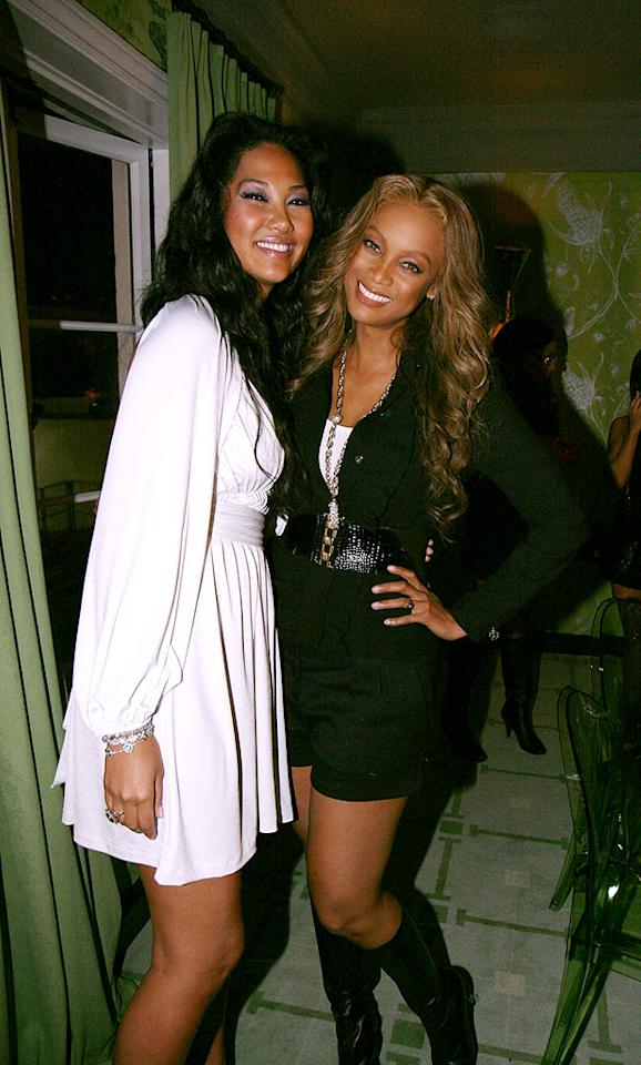It's not surprising that two of the hardest working women around, Kimora Lee Simmons and Tyra Banks, are best friends. Johnny Nunez/WireImage.com - March 23, 2007