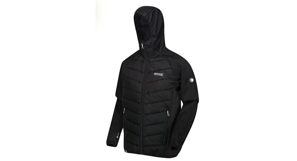 Andreson V Hybrid Insulated Quilted Hooded Walking Jacket