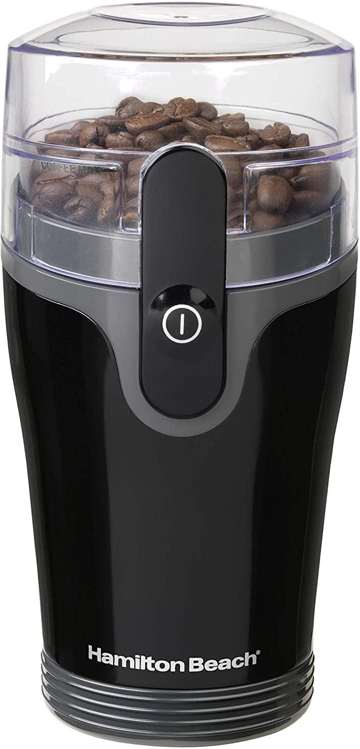 <p>If you're not a fan of manually grinding your coffee beans. the <span>Hamilton Beach Fresh Grind Electric Coffee Grinder</span> ($18) has got your back.</p>