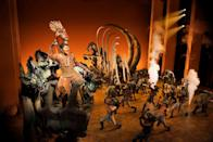 <p>Merely three years after the animated version of Disney's <em>The Lion King</em> hit the big screen, the musical adaptation headed to Broadway. Like other Disney live-shows before and after, the performance added several new songs and scenes. However, the plot remained relatively intact. To date, <em>The Lion King - The Musical</em> is one of the longest-running shows on Broadway, carrying one of the largest theater box office tallies in history. The jungle classic is still playing under the flickering marquee.</p>
