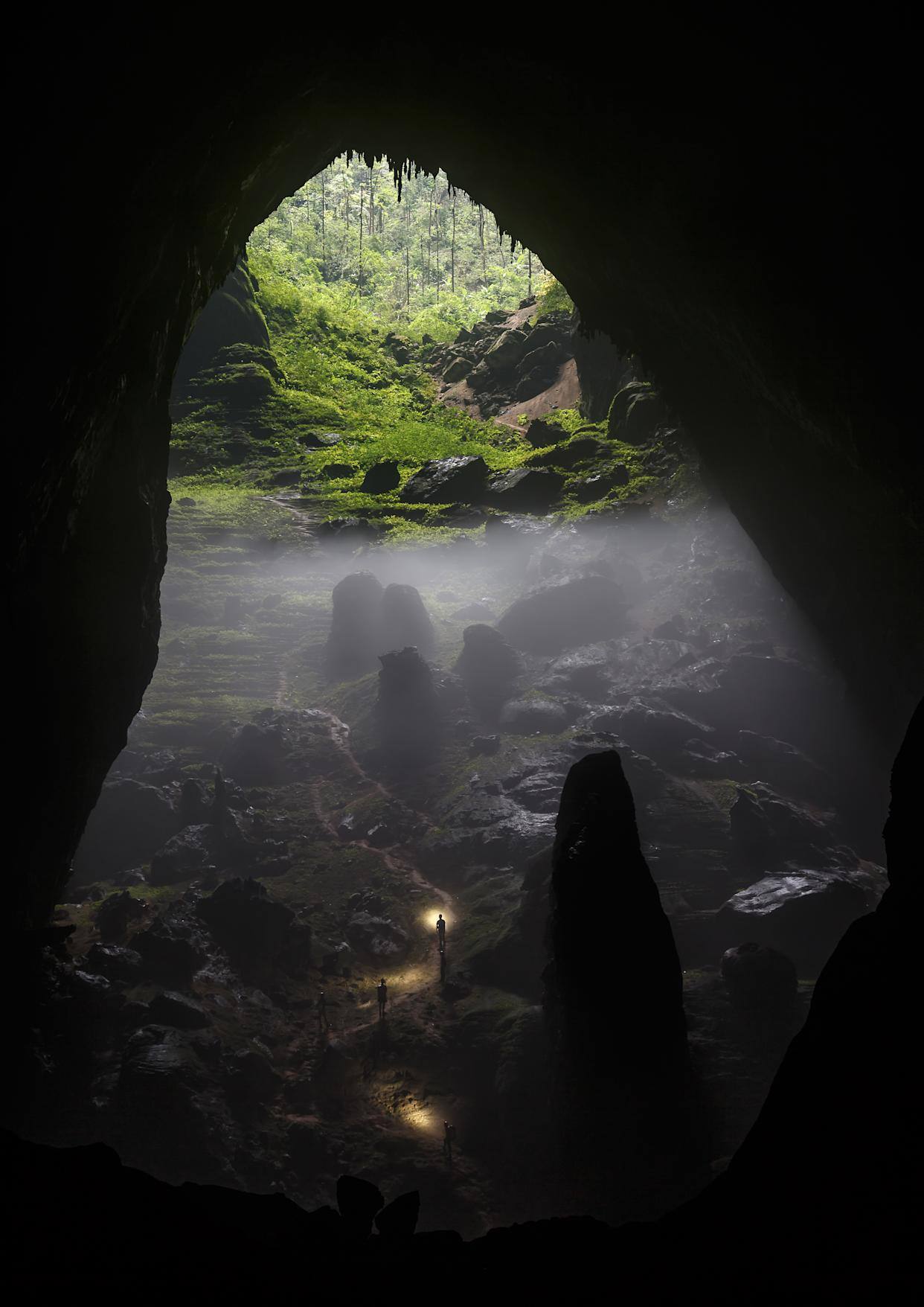 Chris Miller photographed Son Doong Cave, located deep in the Vietnamese jungle, which is the world's biggest cave and was only explored for the first time in 2009. It is a finalist this years National Geographic Traveller Photography contest. The grand-prize winner will be announced at the Telegraph Outdoor Adventure & Travel Show on 14 February, and for the first time ever, the shortlisted entries are available to buy through a unique collaboration with theprintspace at art.tt/8vs.