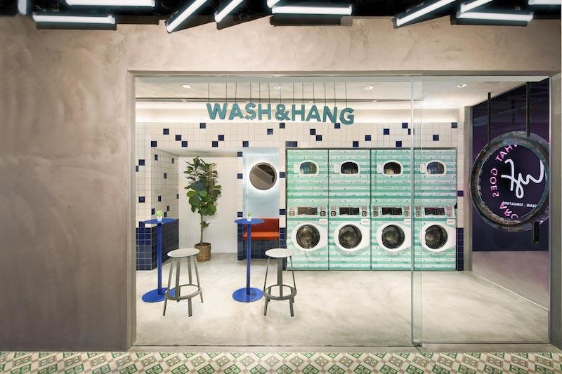 It's laundry time. Photo: lyf Funan Singapore