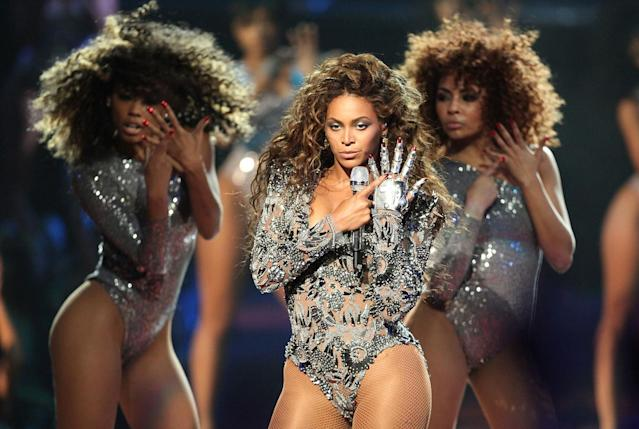 <p>Beyoncé, with 23 awards. And that doesn't count an honorary award — the Michael Jackson Video Vanguard Award. (Photo: Getty Images) </p>