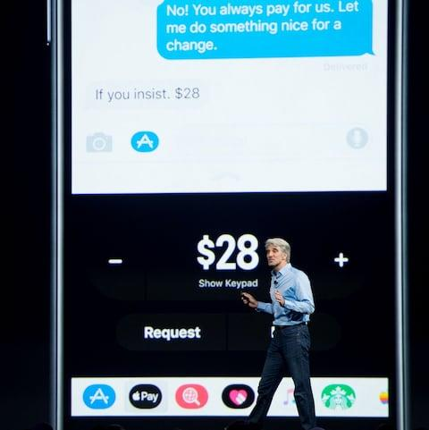 Apple Pay - Credit: AFP