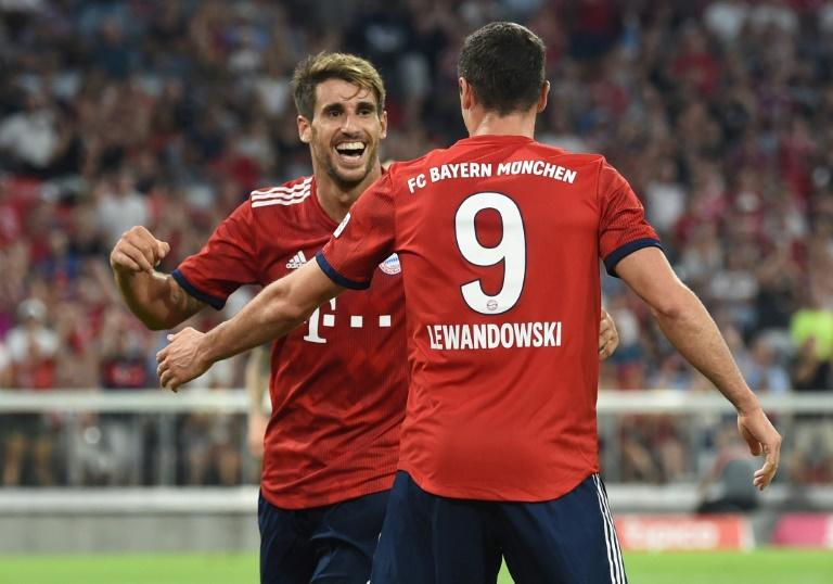 Javi Martinez grabbed the only goal as Bayern edged Man United in a pre-season friendlyMore