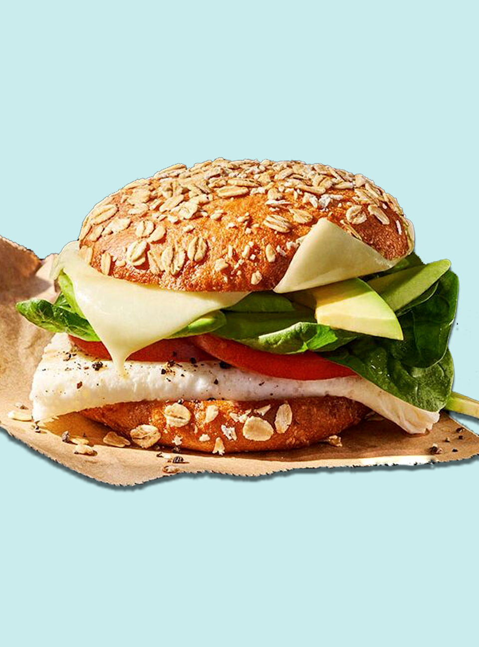 "<p><strong>Calories</strong>: 350</p><p><strong>Total Carbohydrates</strong>: 40g</p><p><strong>Saturated Fat</strong>: 6g</p><p><strong>Sodium</strong>: 700mg </p><p>Made with fresh eggs, Panera's lean take on a breakfast sandwich is packed with both protein and fiber. The sprouted grain bagel rounds out the 5g of fiber, and egg whites are the base of 19g of protein. Creamy avocado is an added bonus. If you order this sandwich on the regular, try swapping scrambled eggs in for egg whites every once in a while.</p><p><a class=""link rapid-noclick-resp"" href=""https://www.panerabread.com/en-us/menu/products/avocado--egg-white---spinach.html"" rel=""nofollow noopener"" target=""_blank"" data-ylk=""slk:Order Now"">Order Now</a></p><p><strong>Nutrition Lab Pro Tip:</strong> Sassos is a fan of <a href=""https://www.panerabread.com/en-us/articles/climate-friendly-meals.html"" rel=""nofollow noopener"" target=""_blank"" data-ylk=""slk:Panera's Cool Food Meals Line"" class=""link rapid-noclick-resp"">Panera's Cool Food Meals Line</a>, which features dishes aimed to help fight climate change. These menu items have a smaller carbon footprint than the traditional American Diet and are often nutritious choices, making them good for you and the planet.</p>"