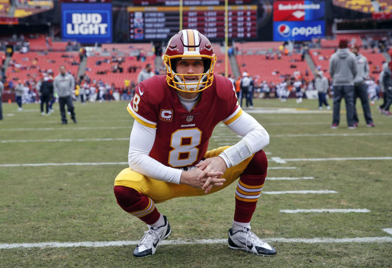 Quarterback Kirk Cousins will be the most interesting player to watch in free agency. (AP)