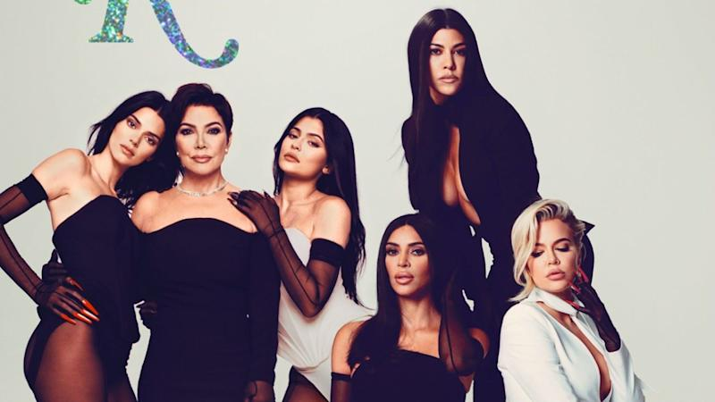 Kris Jenner Poses With All 5 of Her Daughters in Rare Joint Cover: 'I Love My Family So Hard'