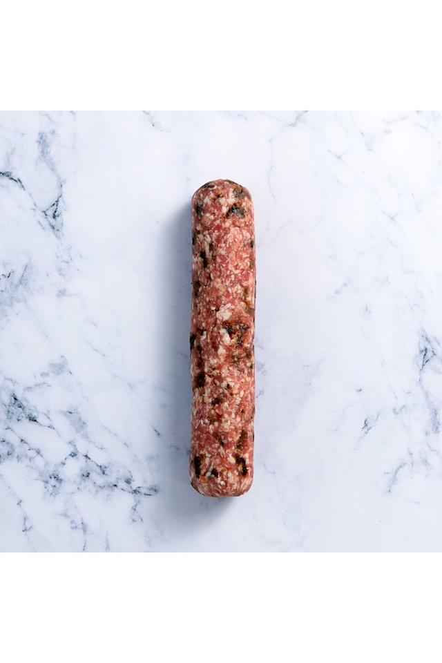 """<p><strong>Overall score: 82/100</strong></p><p>Shaped as a long sausage, this stuffing has a juicy but firm texture and a beautifully glossy caramelised layer. Filled with a spiced plum pudding, which gives an enticingly fruity sweetness against the pork aroma. Wholesome tasting with a delectable balance of sweet sultanas and cinnamon that perfectly cut through the salty high-quality pork. <br><br><strong><a class=""""body-btn-link"""" href=""""https://go.redirectingat.com?id=127X1599956&url=https%3A%2F%2Fwww.farmison.com%2Fchristmas%2Fchristmas-trimmings%2Fsausagemeat-stuffing-plum-pudding-and-apple-brandy&sref=https%3A%2F%2Fwww.goodhousekeeping.com%2Fuk%2Ffood%2Ffood-reviews%2Fg23829655%2Fthe-best-stuffing-to-go-with-your-christmas-dinner%2F"""" target=""""_blank"""">BUY NOW</a> Farmison & Co, £7.95 for 450g</strong></p>"""