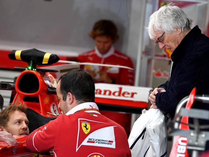 Ecclestone has warned that Ferrari's threat is very real (Getty)