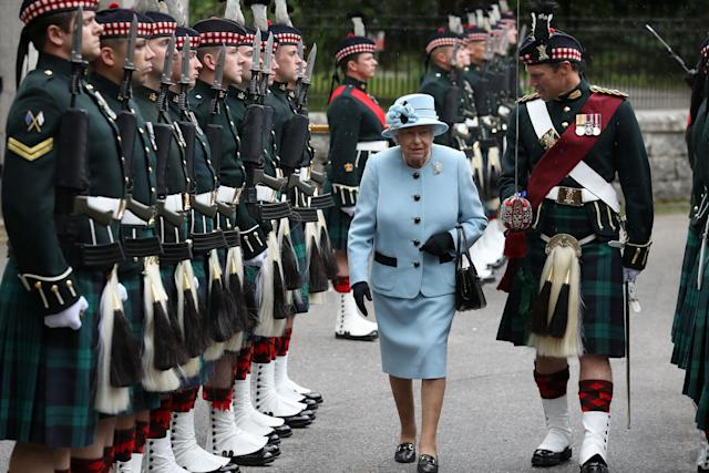 The Queen usually spends the summer in Balmoral. (Getty Images)