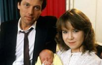 <p>Another bombshell from Albert Square as Michelle Fowler, daughter of salt-of-the-earth Pauline and Arthur Fowler, revealed she was up the duff. Things only got worse when they found that Den Watts was the father.</p>